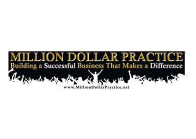 million dollar practice banner logo design