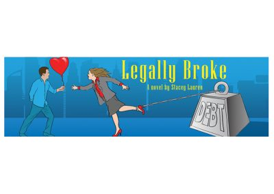 legally broke logo design