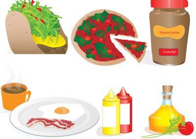 food-illustrations