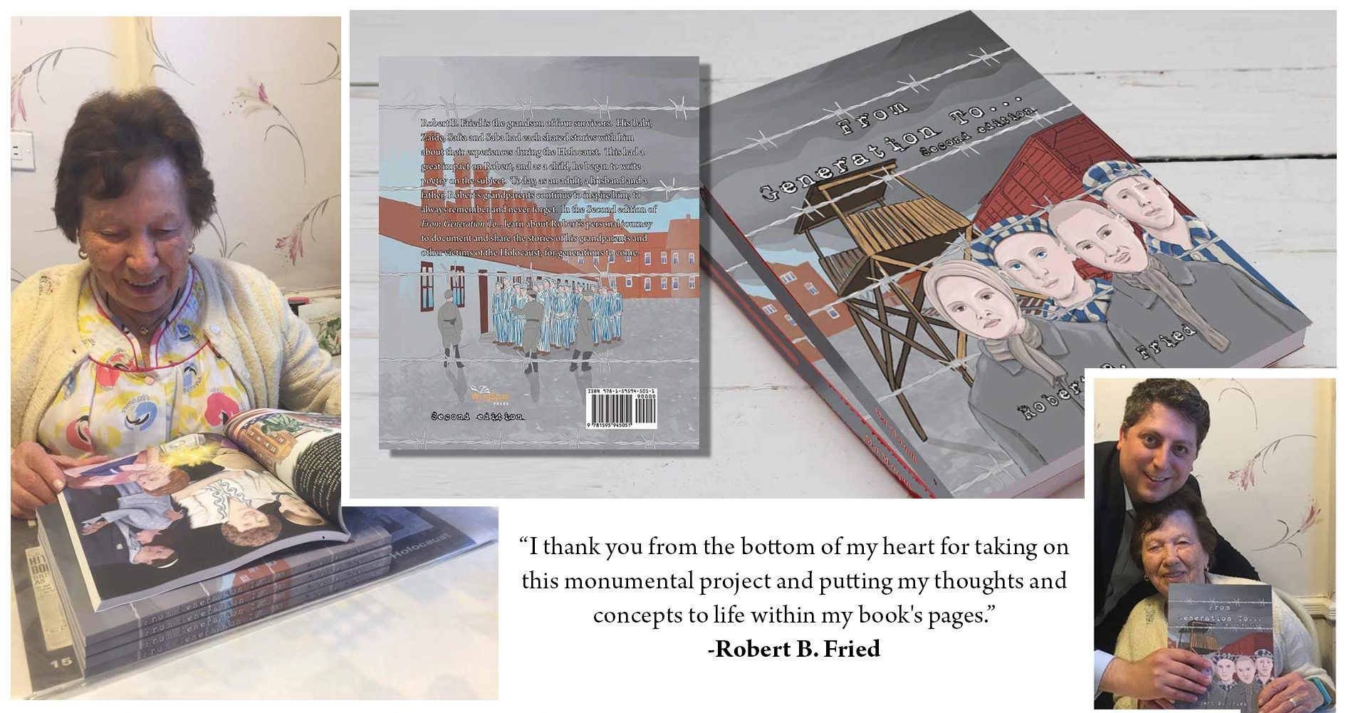 Book cover design and illustration for Author Robert Fried