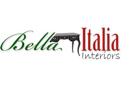 bella italia logo design